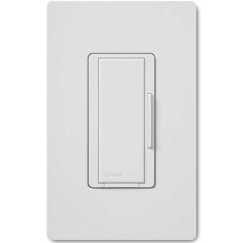 Maestro 277V Smart Remote Dimmer. Use w/ Maestro Multi-location DV Wireless Dimmers. White