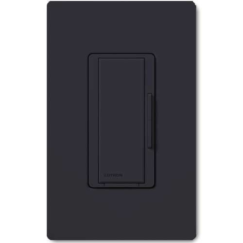 Maestro Smart Remote Black Dimmer. For use with Maestro Multi-location Wireless Dimmers