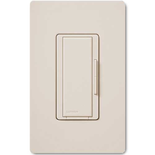 Maestro Smart Remote Light Almond Dimmer. For use with Maestro Multi-location Wireless Dimmers