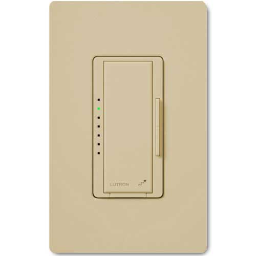 Maestro Wireless Dimmer for Electronic Low Voltage Lighting. Neutral Wire Req.d. Ivory