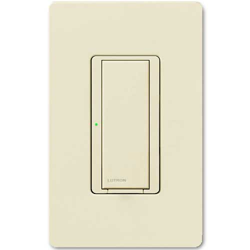 Maestro Wall Switch. Wireless 8 Amp Almond. Dual Volt Use w/ Radio Powr Savr & Pico Controls