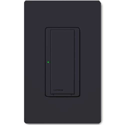 Maestro Wall Switch. Wireless 8 Amp Black. Dual Volt Use w/ Radio Powr Savr & Pico Controls