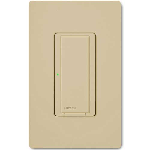 Maestro Wall Switch. Wireless 8 Amp Ivory. Dual Volt Use w/ Radio Powr Savr & Pico Controls