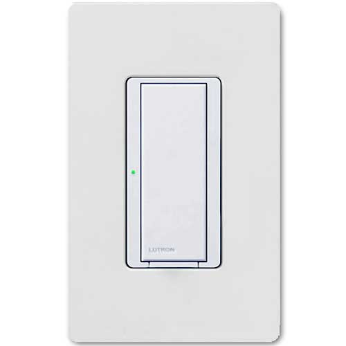 Maestro Wall Switch. Wireless 8 Amp White. Dual Volt Use w/ Radio Powr Savr & Pico Controls