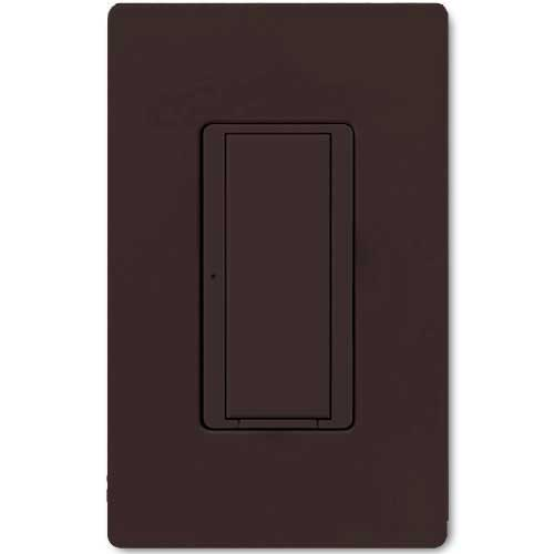 Maestro 277V Smart Remote Wall Switch. Use w/ Maestro Multi-location DV Wireless Switch. Brown