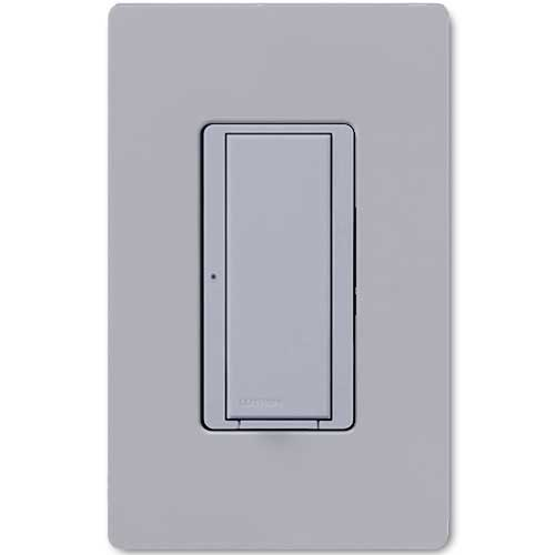 Maestro 277V Smart Remote Wall Switch. Use w/ Maestro Multi-location DV Wireless Switch. Gray