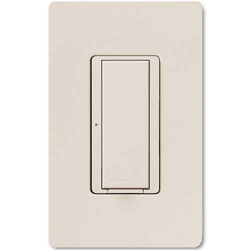 Maestro 277V Smart Remote Wall Switch. Use w/ Maestro Multi-location DV Wireless Switch. Light Almon