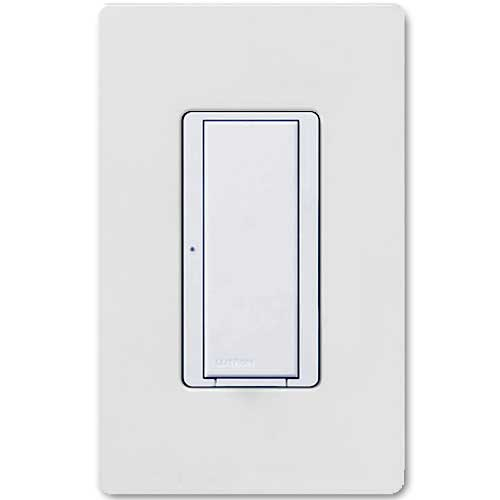 Maestro Smart Remote White Wall Switch. For use with Maestro Multi-location Wireless Switch