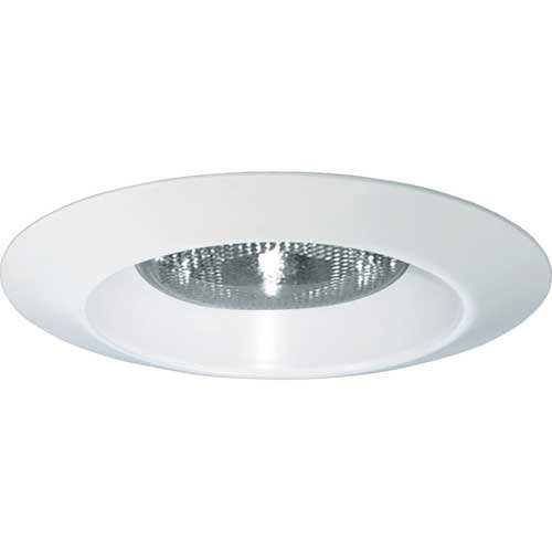 "6"" SHOWER TRIM. OPEN, METAL FLANGE. WET LOCATION LISTED. 8.75"" DIAMETER. IC/NON-IC. CASE OF 12."