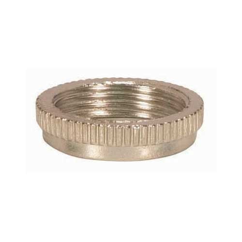 Finish Ring For Threaded Candelabra Sockets - Chrome