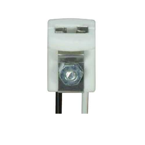 Halogen Socket Porcelain G4 Wedge Base - 8