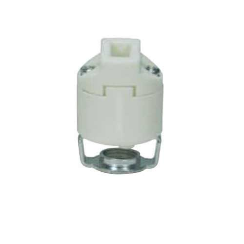 Halogen Socket G9 Smooth Porcelain - U-Channel Hickey, Push-In Wiring