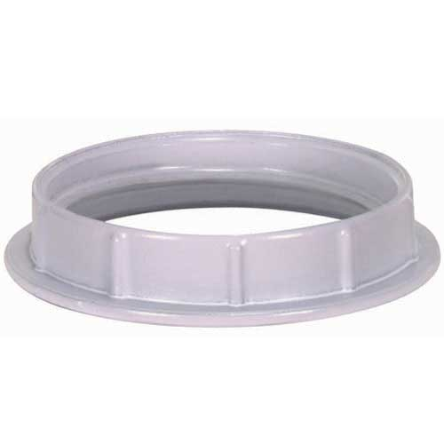 White Die Cast Ring For Threaded Socket