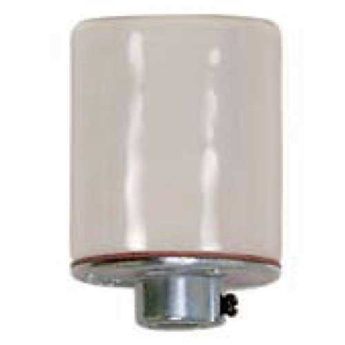 Keyless Smooth Porcelain Socket - 4Kv Pulse Rated - 1/8 Ip Metal Cap