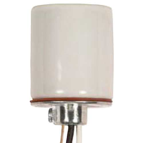 Keyless Porcelain Socket - 4Kv Pulse Rated - 1/8 Ip Cap With Side Notches - 36