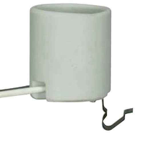 Keyless Porcelain Socket With 1/2