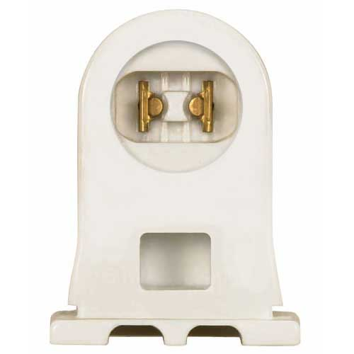 T8 & T12 (Ho) Fluorescent High Output Recessed Double Contact Fixed Socket - Shallow Profile