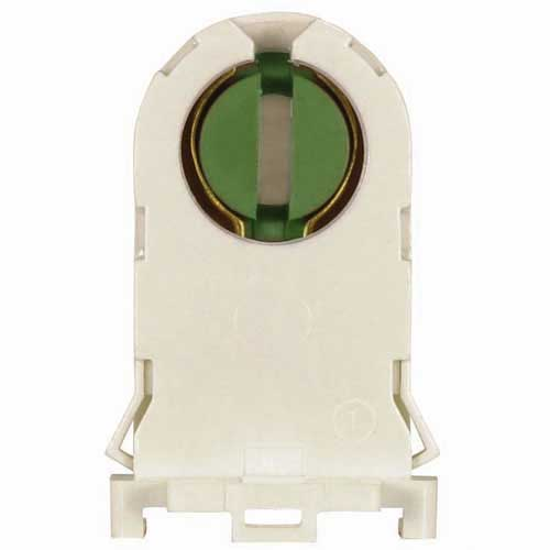 T8 & T12 Fluorescent Rotary Locking Socket For Rapid Start Applications - Tall Profile