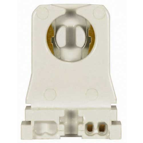 T8 Fluorescent Twist-In Socket W/T12 Stop - Shunted For Instant Start Applications - Medium Profile