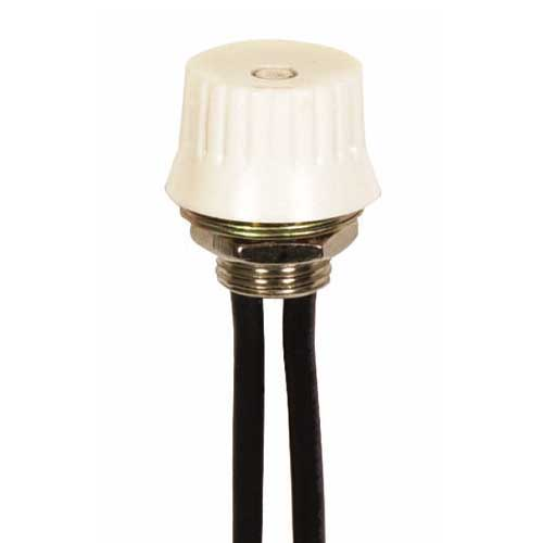 Rotary Switch, On/Off - White Phenolic Knob 3/8