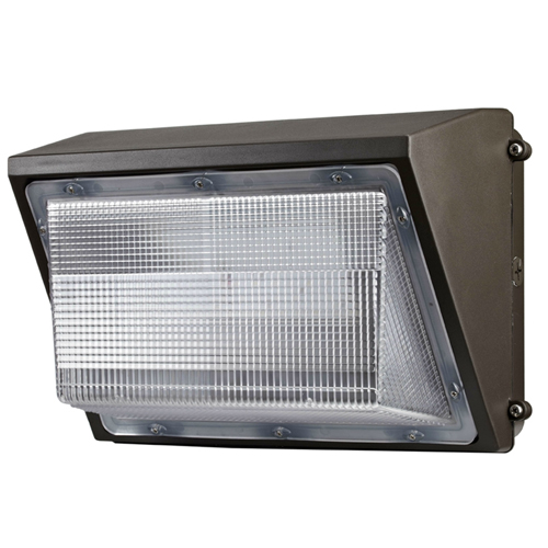 78W LED Flood Light Fixture - 3000K - Outdoor Rated - White Housing